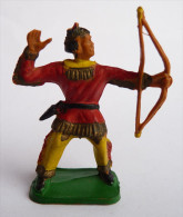 FIGURINE CLAIRET -  INDIEN 1 Ind3  07 Tireur Arc Debout Incomplet - Army