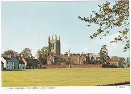 Long Melford - The Green And Church - (Suffolk) - Engeland