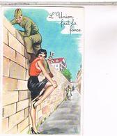 Illustrateur  LOUIS CARRIERE   N°  399  PIN UP   9X14. .....Z8 - Carrière, Louis
