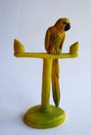 FIGURINE CLAIRET ZOO 96 PEROQUET Sur Son Perchoir Pas Starlux - Figurines