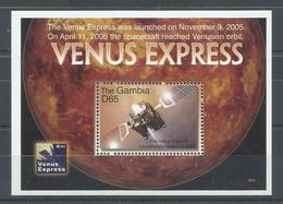 GAMBIA H/B VENUS EXPRESS   MNH  ** - Gambia (1965-...)