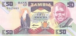 50 Kwacha Banknote Bank Of Zambia UNC - Zambia