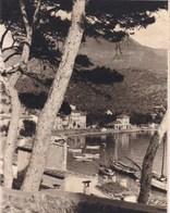 PALMA De MAJORQUE Puerto De Soller 1930  Photo Amateur  Format Environ 7,5 Cm Sur 5,5 Cm - Lieux
