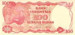 100 Rupiah  Indionesien UNC 1984 - Indonesien