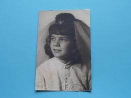 H. Communie > Daisy LEFEBVRE I/d H. Augustinuskerk STASEGEM > Pinksteren 6 Juni 1965 ( Zie / Voir Photo ) ! - Communie