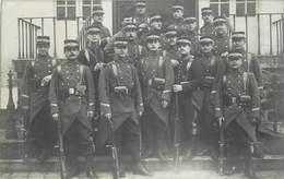 CARTE PHOTO - Militaires Saint Cyr, Régiment D'artillerie - Regimente