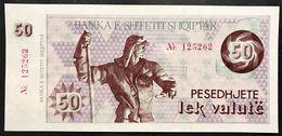 Albania  50  Lek Valute 1992 Unc Fds Con Numeri LOTTO 2395 - Albania