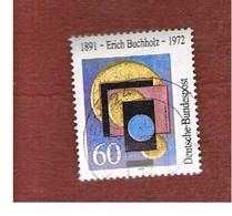 GERMANIA (GERMANY) - SG 2339 - 1991  E. BUCHHOLZ, ARTIST   - USED - [7] Federal Republic