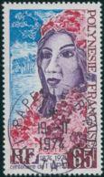 French Polynesia 1974 Sc#284,SG188 65f UPU Polynesian Woman FU - Used Stamps