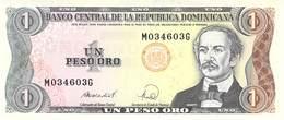Un Peso ORO Dom.Rep. UNC - Dominikanische Rep.