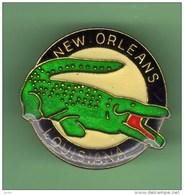 NEW ORLEANS - LOUISIANA *** CROCODILE *** 1016 - Ciudades