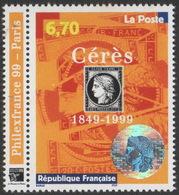 France Neuf Sans Charnière 1999 Philexfrance 150e Anniversaire Du Premier Timbre Français YT 3258 - France