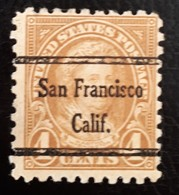 USA Scott #585 – Precancel San Francisco, California (1925) - United States