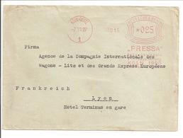 Ema Freistempel Köln-Deutz. PRESSA 1928. Pers-Press-Presse - Briefe U. Dokumente