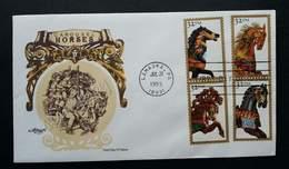 USA United States Carousel Horse 1995 (stamp FDC) - Stati Uniti