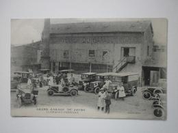 63 Clermont Ferrand, Grand Garage De Jaude. Lot De 2 Cartes Inédites (3414) - Clermont Ferrand