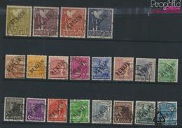 Berlin (West) 1-20 (kompl.Ausg.) Geprüft Mit Attest Gestempelt 1948 Schwarzaufdruck (9319500 - Used Stamps