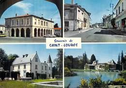 33 Gironde- SAINT LOUBES Multi Vues  La Mairie Château Lorient Malleret  Avenue De La République  *PRIX FIXE - Unclassified