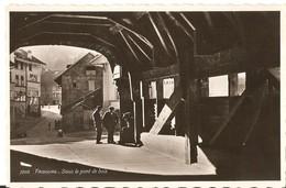 FRIBOURG  --  Sous Le Pont De Bois - FR Fribourg
