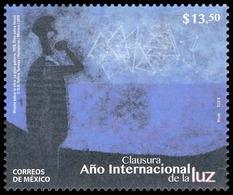 """2016 MÉXICO Clausura Año Internacional De La Luz MNH International Year Of Light,  """"La Gran Galaxia"""" De Rufino Tamayo. - Messico"""