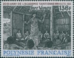 French Polynesia 1994 Sc#642,SG702 136f Fare Vana'a Academy MNH - Polynésie Française