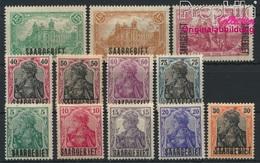 Sarre 32-43 (complète.Edition.) Avec Charnière 1920 Allemagne (8894287 (8894287 - Nuovi