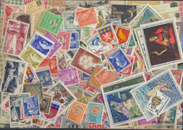 France Stamps-300 Different Stamps - Collections