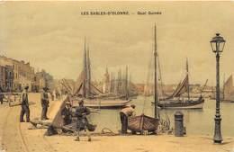 85-LES- SABLES-D'OLONNE- QUAI GUINEE - Sables D'Olonne