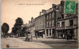 59 TRELON - Un Coin De La Rue Nationale. - France