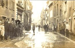 CARTE-PHOTO - Besançon - Inondations De 1910 - Besancon