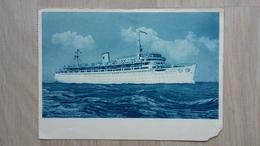 Ansichtskarte - Schiffe - MS Wilhelm Gustloff - Dampfer