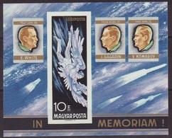 1968. In Memoriam - Block - L - Imperforate - Hungary