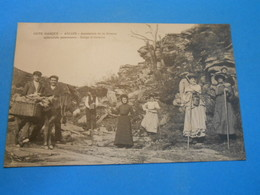 64 ) Ascain - Ascension De La Rhune - Gorge D'ateketa   - Année - EDIT - J.S - Ascain