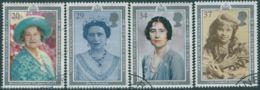 Great Britain 1990 SG1507-1510 QEII Queen Mother Birthday Set FU - 1952-.... (Elizabeth II)