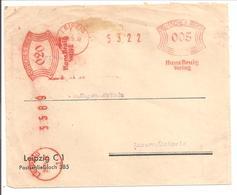 Ema Freistempel Leipzig>Schweiz  005 & 020 // 28.9.32 & 29.9.32 - Alemania