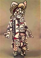 Art - Divers - Jean Dubuffet - Nini La Minaude - Coton Peint, Bristol D'époxy, Latex - Fondation Jean Dubutfet Périgny-s - Fine Arts