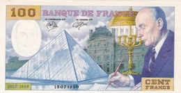 FRANCE : Billet Fantaisie François Mitterrand Et Pyramide Du Louvre 1989 - Specimen
