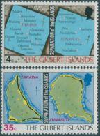 Kiribati 1976 SG1-2 Charts Set MNH - Kiribati (1979-...)