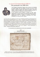 """1812. BARCELONA TO FRANCE. MARK """"90/BARCELONE"""" BY THE FRENCH OCCUPATION POST. - Marcofilia (sobres)"""