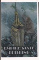 Carte 3D Lenticulaire - New York - Empire State Building Et Le Singe King Kong - Format 10 X 15 Cm - - New York City