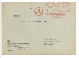 Ema Freistempel Düsseldorf 10.5.35 Phoenix Werke - Deutschland