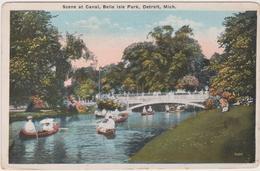Detroit - Cpa / Belle Isle Park. - Detroit