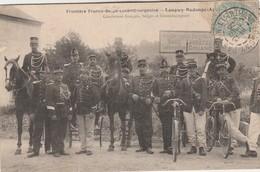 Aubange ,Frontière Franco-Belge-Luxenbourg,Longwy-Rodange-Aubange ,gendarmes (gendarmerie)Série P ,n° 26 , V. Kremer - Aubange