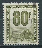 Timbre Colis Postaux 1944 Yvt N° 19 - Afgestempeld