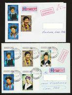 Laos 2011 Mi 2187 – 2191 Express Registered All No. 000146 - Laos