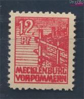 Sowjetische Zone (All.Bes.) 36z B Dünnes Papier Geprüft Postfrisch 1946 Abschiedsserie (7510402 - Zone Soviétique