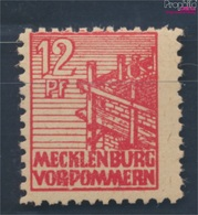 Sowjetische Zone (All.Bes.) 36z B Dünnes Papier Geprüft Postfrisch 1946 Abschiedsserie (7510403 - Zone Soviétique