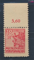 Sowjetische Zone (All.Bes.) 36z B Dünnes Papier Geprüft Postfrisch 1946 Abschiedsserie (7510404 - Zone Soviétique