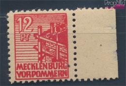 Sowjetische Zone (All.Bes.) 36z B Dünnes Papier Geprüft Postfrisch 1946 Abschiedsserie (7510406 - Zone Soviétique