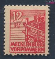 Sowjetische Zone (All.Bes.) 36z B Dünnes Papier Geprüft Postfrisch 1946 Abschiedsserie (7510407 - Zone Soviétique
